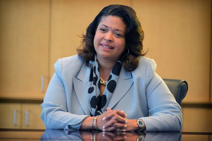 Verletta White, interim superintendent of Baltimore County schools, was named to the position following the resignation of Dallas Dance. </p>