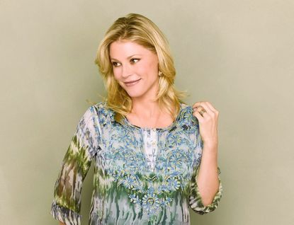 """Julie Bowen stars as the perfectionist mother Claire on ABC's breakout sitcom""""Modern Family."""""""