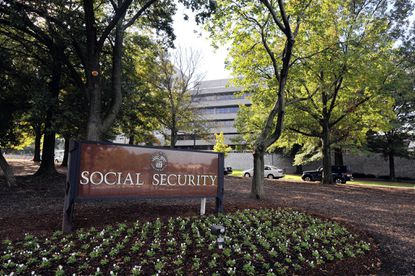 Social Security Administration headquarters in Woodlawn.