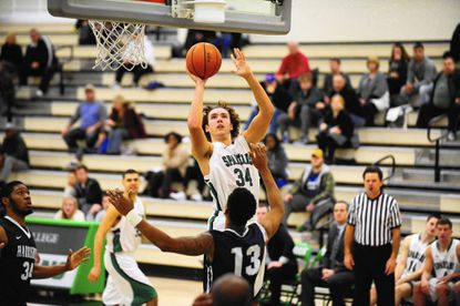 Dalton Myers, a Westminster High School graduate, is averaging 16.4 points per game for the York College men's basketball team.