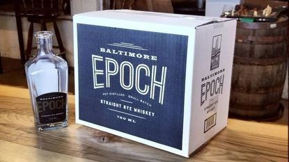Baltimore Whiskey Co. will release Epoch Rye, the distillery's first whiskey, on March 17.
