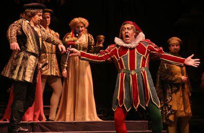 """A scene from Lyric Opera Baltimore's """"Rigolleto"""" in 2013."""