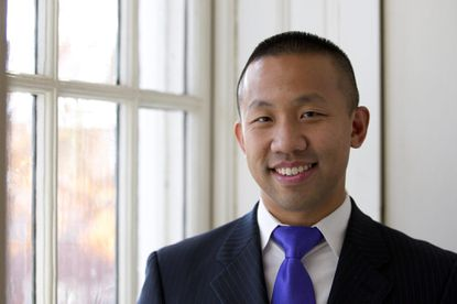 District 12 state delegate Clarence Lam, a Democrat, was a sponsor of legislation that will allow first responders to assist animals without the risk of being sued.