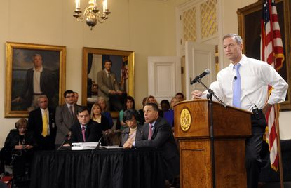 Maryland budget reflects improving economy