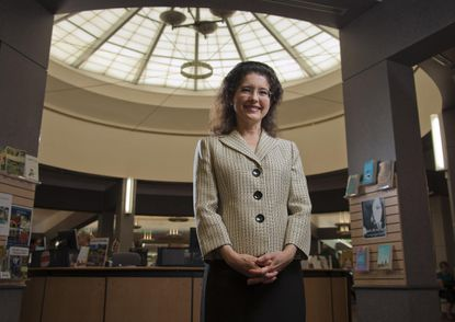 Valerie Gross, president and CEO of Howard County Library System, was named one of 50 women to watch by The Baltimore Sun in 2013.
