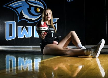 Westminster senior Jilienne Widener is the 2019 Carroll County Times Volleyball Player of the Year.