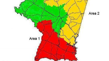 Each county's Area 1 was reassessed this year— which in Carroll encompasses the Freedom Area, Sykesville, Woodbine, Mount Airy, Winfield and New Windsor. Area 3 county were reassessed last year, and Area 2 will be reassessed in 2020. 