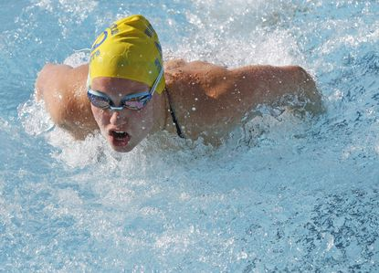 Swimming: Big day for Victoria Kaufman at Carroll County Invitational