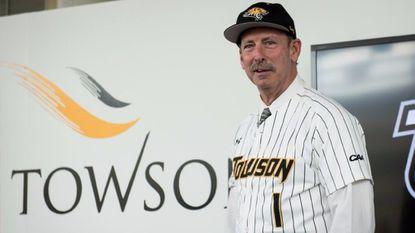 Towson introduces former Orioles minor leaguer Matt Tyner as new baseball coach