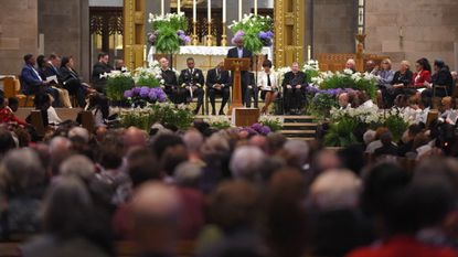 Hundreds turned out for the special interfaith and ecumenical prayer service in honor of the Rev. Martin Luther King Jr. at the Cathedral of Mary Our Queen.