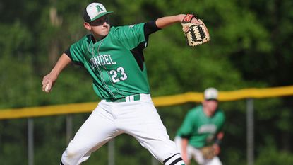 Arundel's Will Schubert pitches during a game against Severna Park last season at Joe Cannon Stadium.