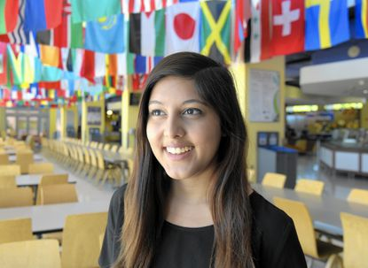 Poulomi Banerjee graduated from UMBC in May with a degree in Health Administration and Policy.