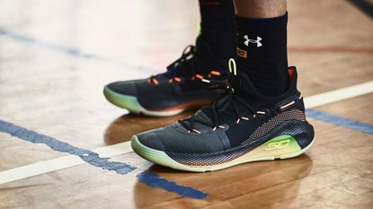 Under Armour released its Curry 6 sneakers Friday.