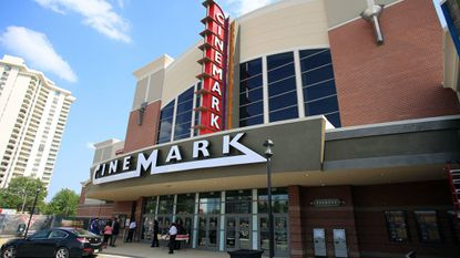 Cinemark — which operates theaters in Towson (pictured) and Hanover — will start banning big bags on Thursday.