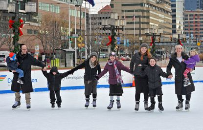 A day of skating for heart transplant patient