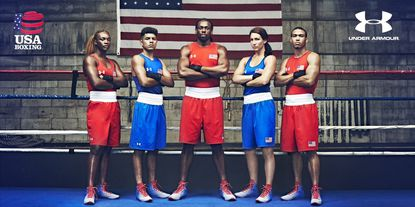 Under Armour has teamed up with USA Boxing.