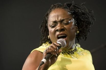 Sharon Jones, who was scheduled to perform at Silopanna, performing at SXSW last year.