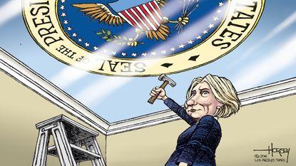 Smashing the last glass ceiling