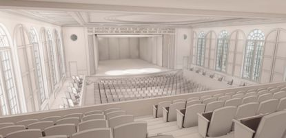 The Maryland Hall for the Creative Arts in Annapolis will undergo an $18 million renovation project to modernize and improve its performing arts wing. The first phase will take place beginning in June and will include the renovation of the theater¿s orchestra level seating and upgrades to the stage area.