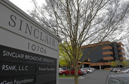 Sinclair Broadcast Group headquarters in Hunt Valley.