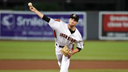 Aberdeen IronBirds pitcher Ryan Conroy allowed two hits over five innings Wednesday night to improve to 4-2.