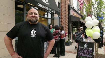 Duff Goldman, founder of Charm City Cakes, proposed to his girlfriend with butcher's twine, according to an Instagram post announcing the engagement.