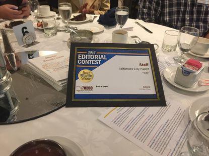City Paper wins 18 MDDC Press Association awards