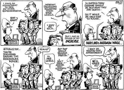 The Maryland wage debate