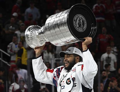 Capitals right wing Devante Smith-Pelly was one of Washington's top players in the team's run to a Stanley Cup championship, scoring seven even-strength goals in 24 games to match his regular-season total.