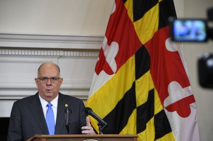 Hogan has publicly said that there have been no credible or detailed threats to the State House in Annapolis.