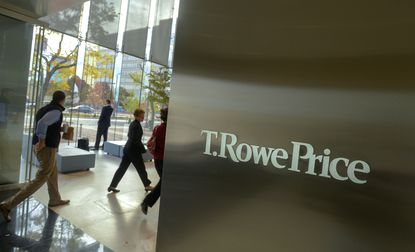 A file photo from T. Rowe Price Group's headquarters in downtown Baltimore.