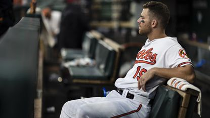 Chris Davis, under contract with the Orioles for four more seasons, batted .168 in 470 trips to the plate in 2018.