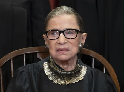 Justice Ruth Bader Ginsburg returns to Supreme Court bench in public session
