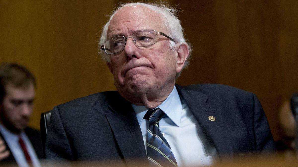 Witcover Bernie Sanders has a harder hill to climb in 15 ...
