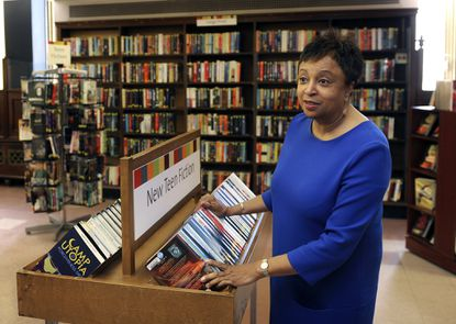 "Librarian of Congress Carla Hayden, former director of the Enoch Pratt Free Library, was named a ""Library Lion"" by the New York Public Library."