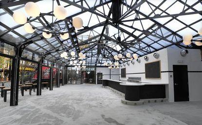 Leinenkugel's Beer Garden is set for a soft opening Sept. 2 in Power Plant Live.