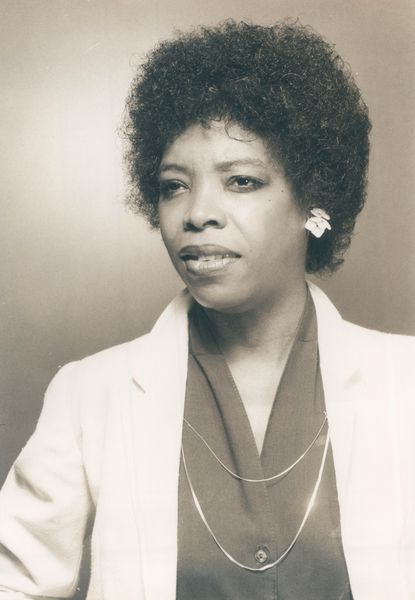 Baltimore jazz vocalist Earlene Reed Harvey is pictured in 1983.