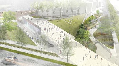 Op-Alt: The latest plans for a revamped McKeldin Plaza leave a few things out