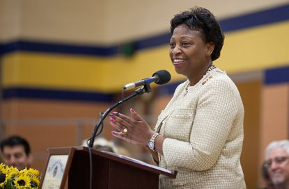 State schools Superintendent Lillian Lowery