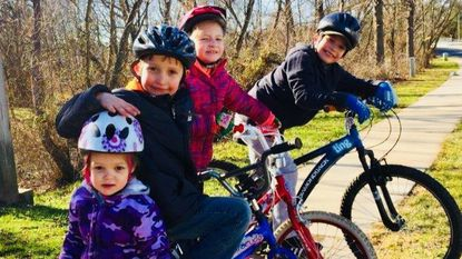 Winner of Bike-Ped Plan photo contest revealed: Zylka family