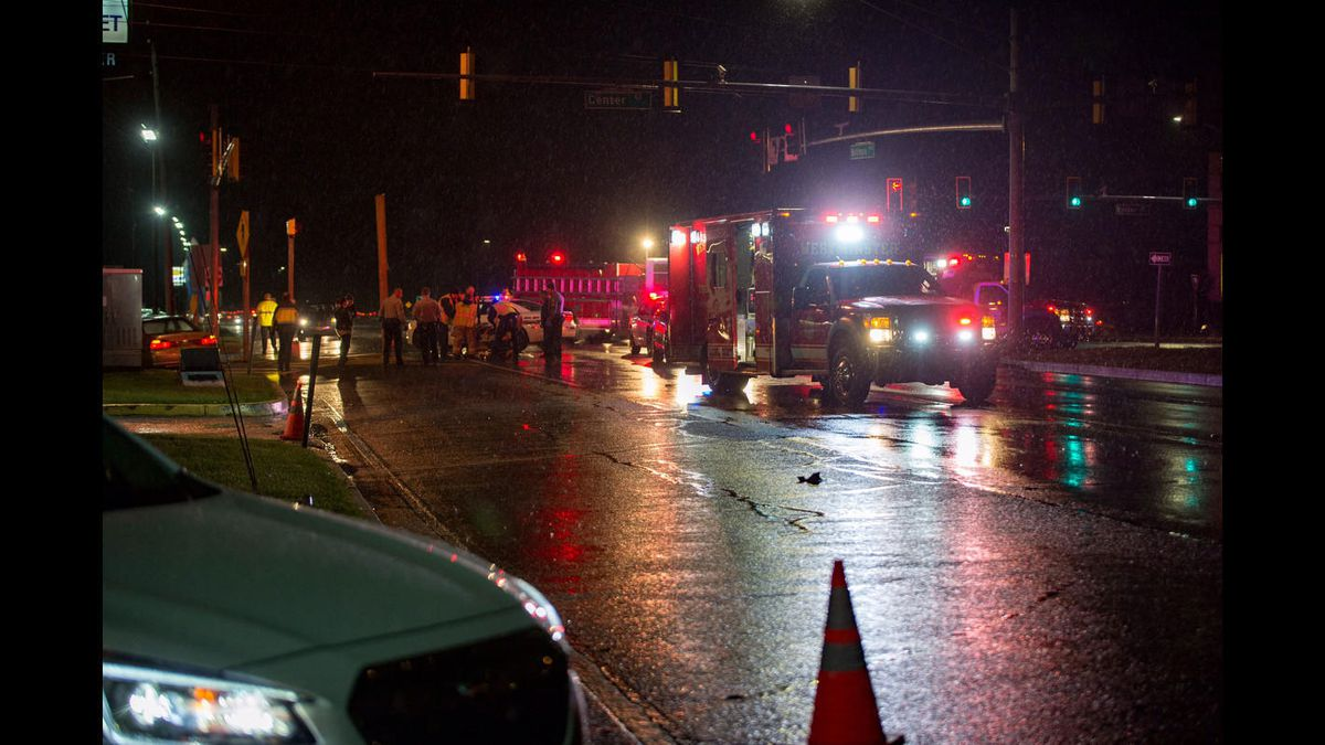 Woman dies after being struck by truck in Friday night crash