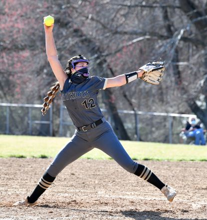 John Carroll pitcher Kyleigh Waugh delivers during a game Friday against Maryvale Prep.