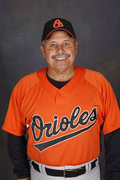 Orioles minor league manager Orlando Gomez during photo day at Twin Lakes Park on March 9, 2009, in Sarasota, Florida.