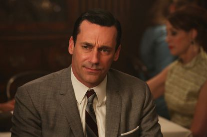 Don Draper, played by Jon Hamm, is not 'Dad of the Year' material in 'Favors.'
