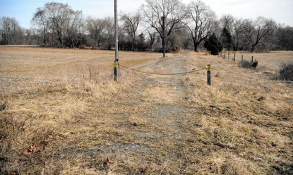 Harford County has secured $150,000 in state funding to study potential sites for a county agricultural center, including a property near the intersections of Routes 1 and 136 in Street, shown above.
