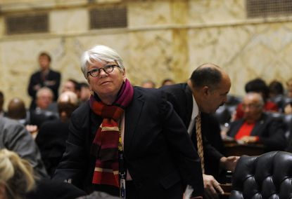Del. Maggie McIntosh, the chair of the House Appropriations Committee has been working with her Senate counterpart, Edward J. Kasemeyer, to smooth out any problems before the budget conference.