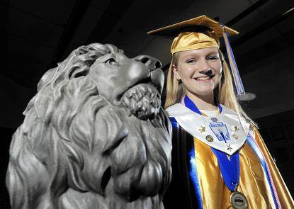 Graduating Liberty senior Molly Gaskin will attend the University of North Carolina in Chapel Hill.