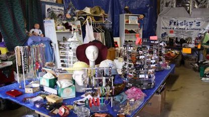 The last weekend of Frisky's Wildlife and Primate Sanctuary's flea market will be April 27-28.