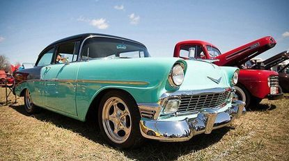 """""""Romancing the Chrome,"""" featuring more than 250 classic automobiles, takes place Saturday, April 14, from 10 a.m. to 4 p.m. at Jarrett's Field in Jarrettsville. The event is family friendly, and admission is free."""