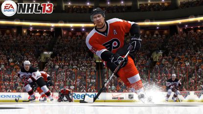 """Philadelphia Flyers center Claude Giroux was named """"NHL 13's"""" cover athlete last night at the NHL's annual awards."""